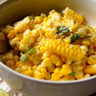 Butter, Lime + Parmesan Corn.