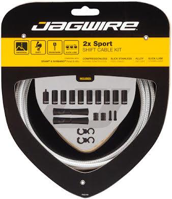 Jagwire 2x Sport Shift Cable Kit SRAM/Shimano alternate image 1