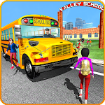 Modern City School Coach Bus Driving Simulator 17 Icon