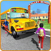 Modern City School Coach Bus Driving Simulator 17