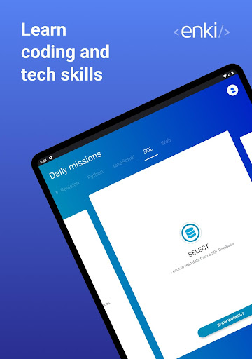 Enki: Learn data science, coding, tech skills 2.1.3 Screenshots 17