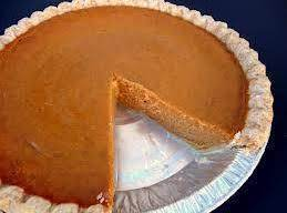 Its A Secret!: Pumpkin Pie Recipe