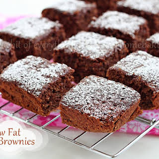 Low-fat Banana Brownies.