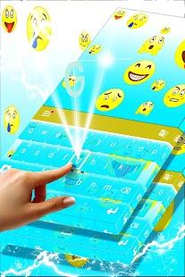 Klávesnice Emoticon Téma - náhled