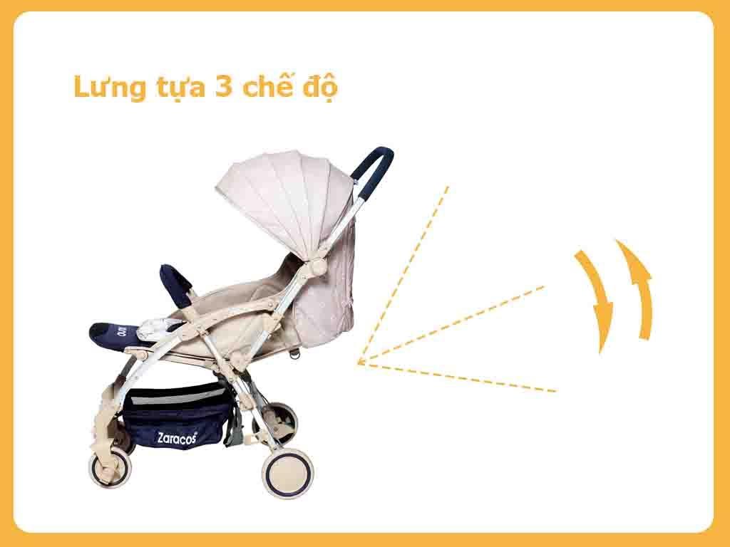 Ưu điểm của dòng xe đẩy trẻ em Zaracos3