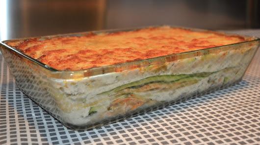 Menú saludable: salmón con brócoli y lasaña de berenjena y calabacín