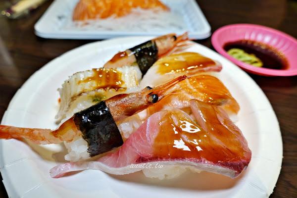 朱添鮮魚號 開到凌晨的30年生魚片 炙燒比目魚握壽司必點 宵夜