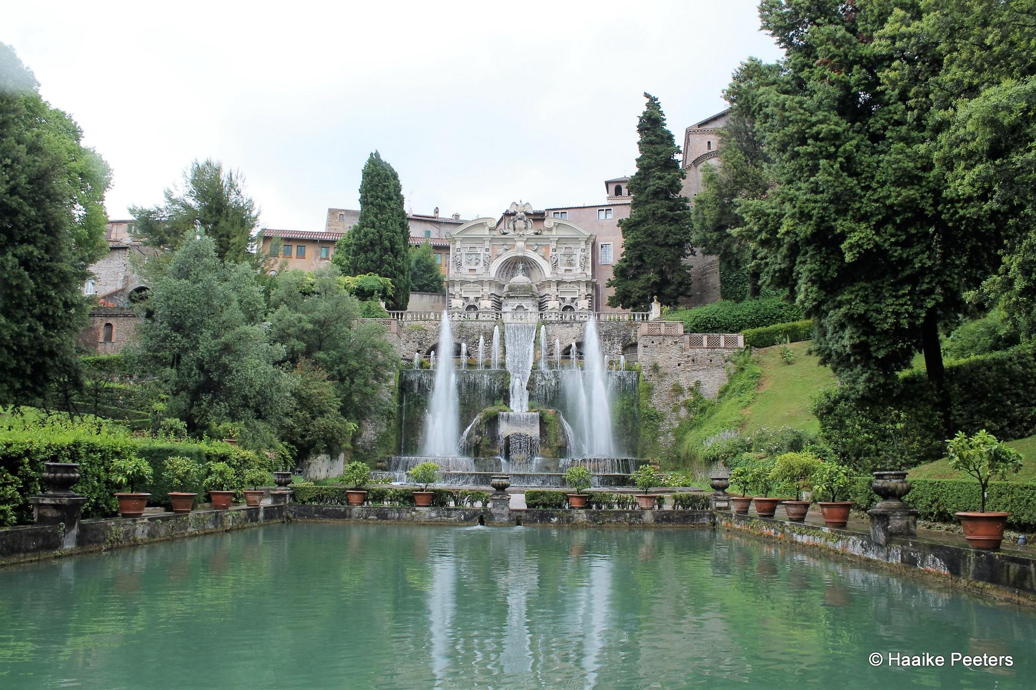 Villa d'Este Tivoli (Le petit requin)