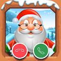 Videollamada Papa Noel - simula llamada gratis! icon