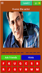 INDIAN ACTORS QUIZ - náhled