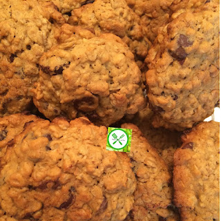Oatmeal Dark Chocolate Chips Cookies (Baking with Kids) Recipe