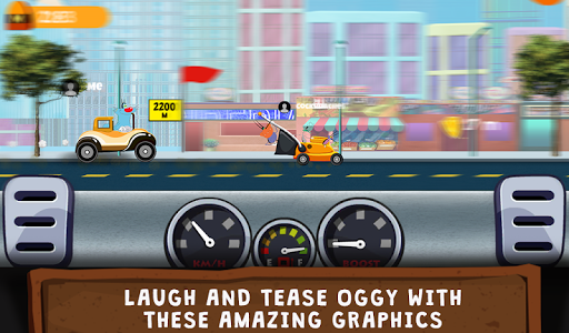 Oggy Go - World of Racing (The Official Game) 1.0.12 gameplay | by HackJr.Pw 9