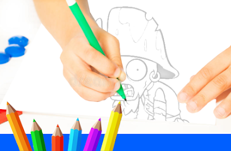 Art Games Paint Zombie Vs Draw Apps Bei Google Play
