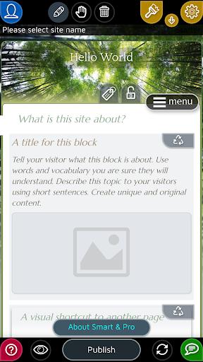 Website Builder for Android screenshot 3