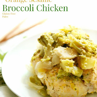 Slow Cooker Orange Sesame Broccoli Chicken