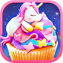 Rainbow Unicorn Foods & Desserts: Cooking Games icon