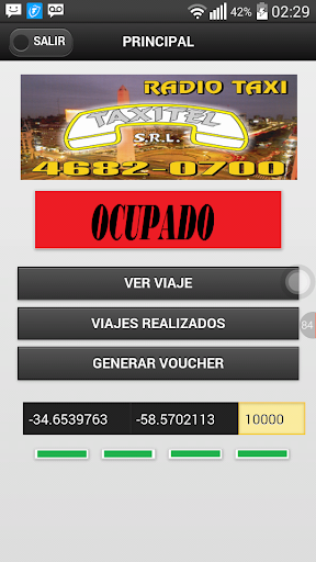 Taxistas Radio Taxi Taxitel  screenshots 4