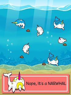 Narwhal Evolution -Sea Clicker screenshot