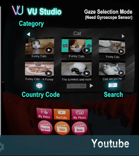 VU Cinema  VR 3D Video Player  screenshots 2