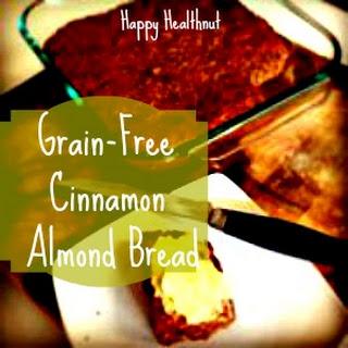 Grain Free Cinnamon Almond Bread Recipe