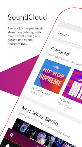 SoundCloud - Music & Audio Android App Screenshot