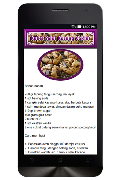Resep Kue Kering- screenshot