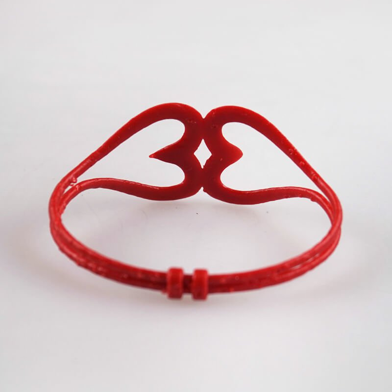 3D модель простого браслета сердца