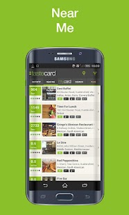 tastecard Restaurant Discounts- screenshot thumbnail