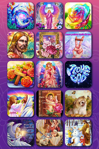 Bible Coloring - Paint by Number, Free Bible Games 2.5.3 screenshots 24