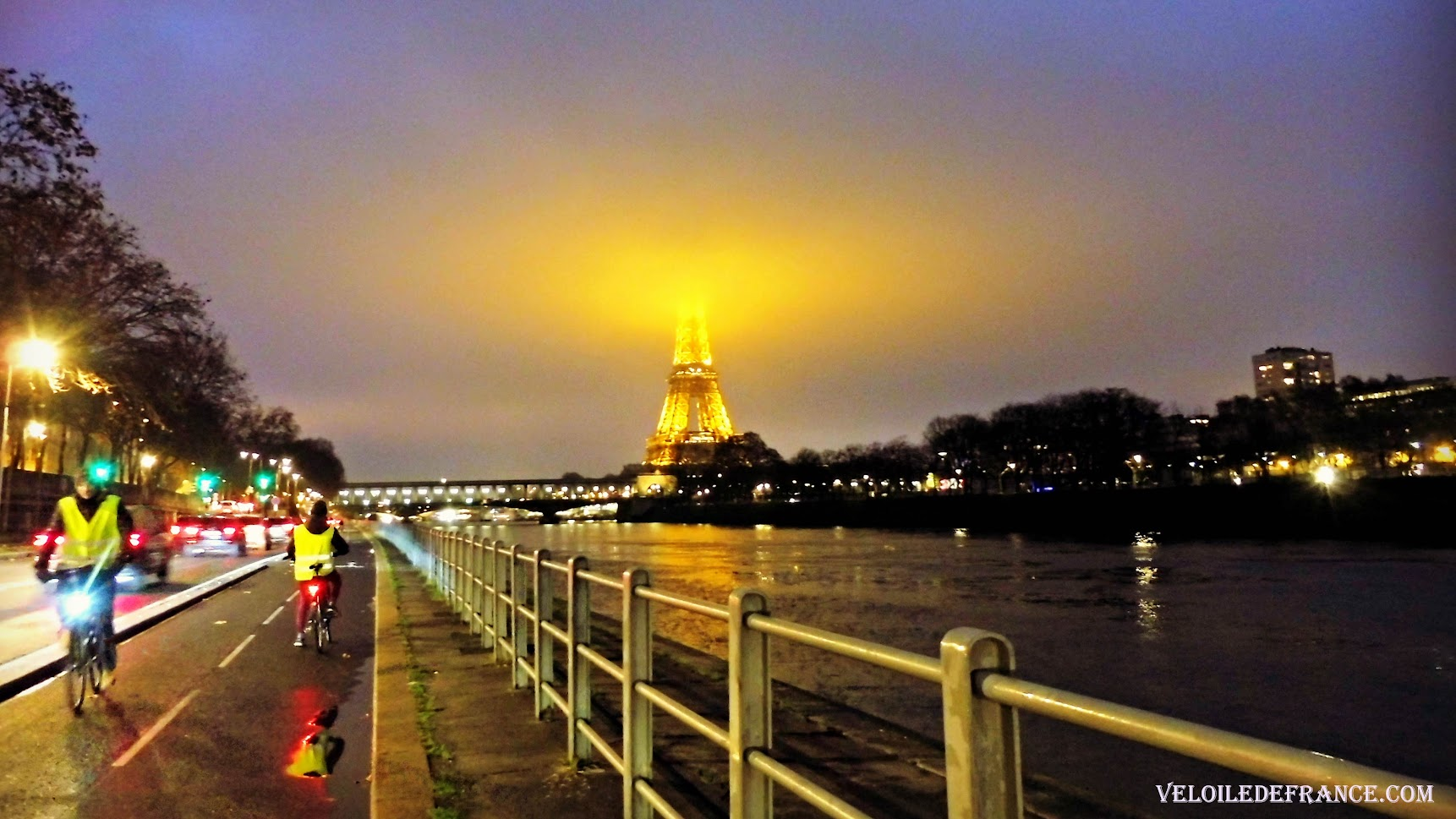 Voie Georges Pompidou Noel