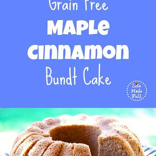 Grain Free Maple Cinnamon Bundt Cake