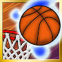 Shooting baskets (basketball has been shot) APK icon