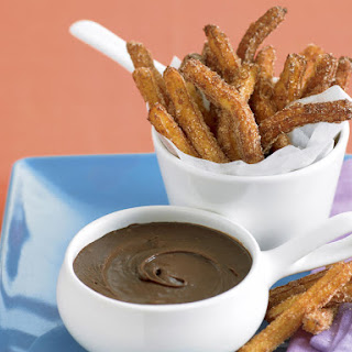 Churros with Chocolate Dipping Sauce.