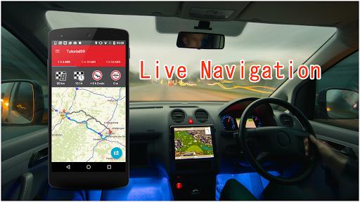 Maps, GPS, Navigation & Driving Route Directions screenshot 4