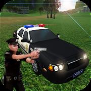 Police Car Gangster Chase - Vegas Crime Escape Sim