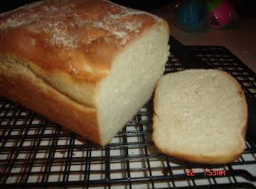 English Muffin Bread in Bread Maker