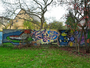 Photo: Já graffiti nějak extra nefandím, ale šerif Wiggum je jako živej!