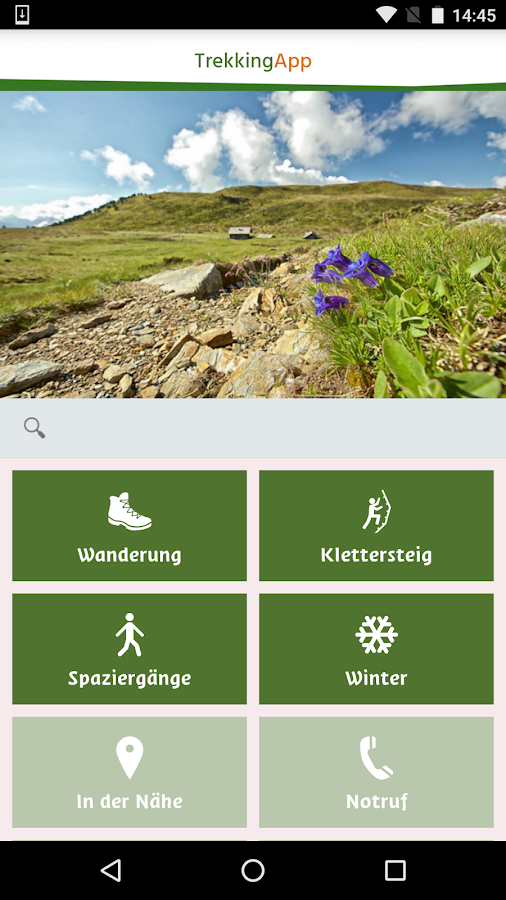 Südtirol Trekking Guide – Screenshot