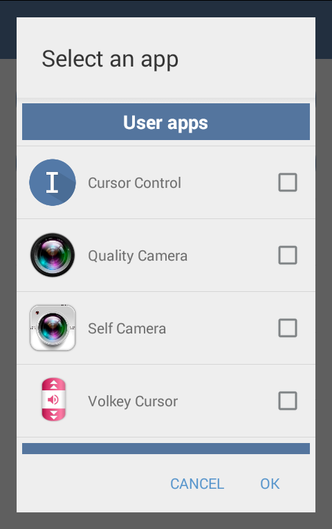 Cursor Control- screenshot