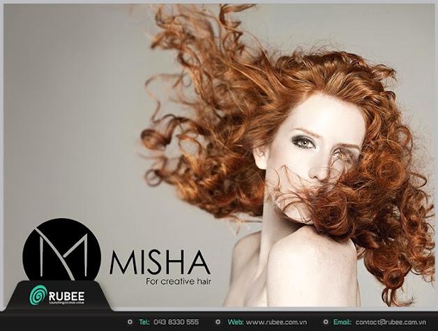 Logo thương hiệu Misha sản phẩm cho tóc 4 đẹp