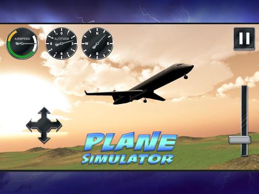 飛行機シミュレーター