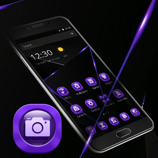 Purple Black Business Theme Android APK Download Free By Fantastic Design