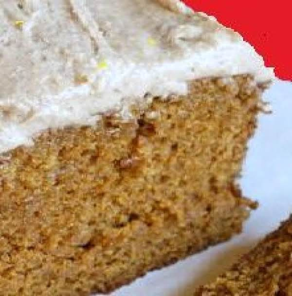 Gingerbread Loaf Cake With Lemon Frosting
