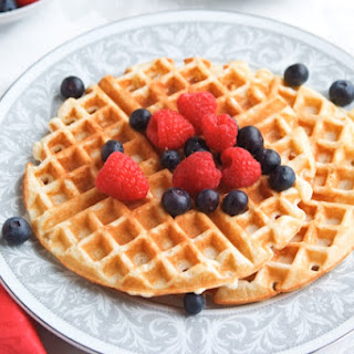 Mom's Buttermilk Waffles