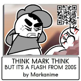 A Genuine copy of the full animation of Think Mark Think Meme interpretation as a flash