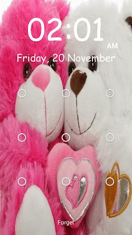 android Teddy Bear Pattern-Bildschirm Screenshot 10