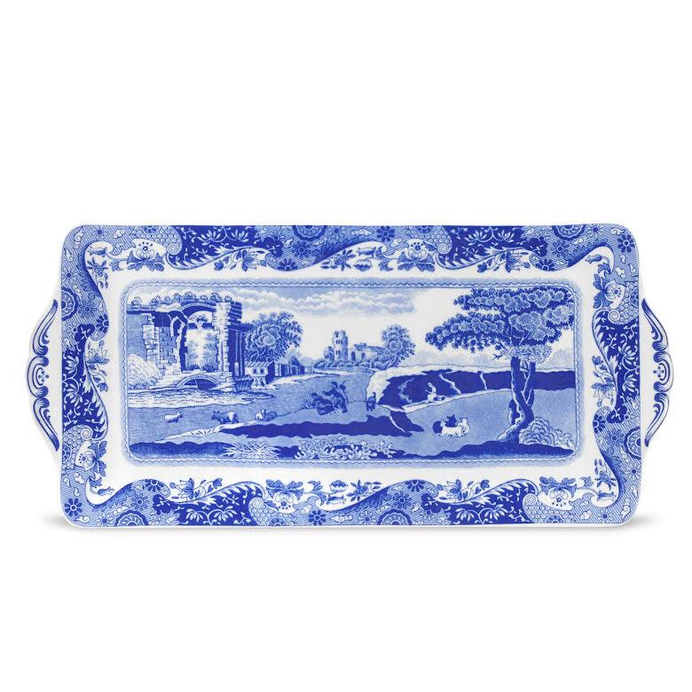 Blue Italian Smörgåsbricka Liten