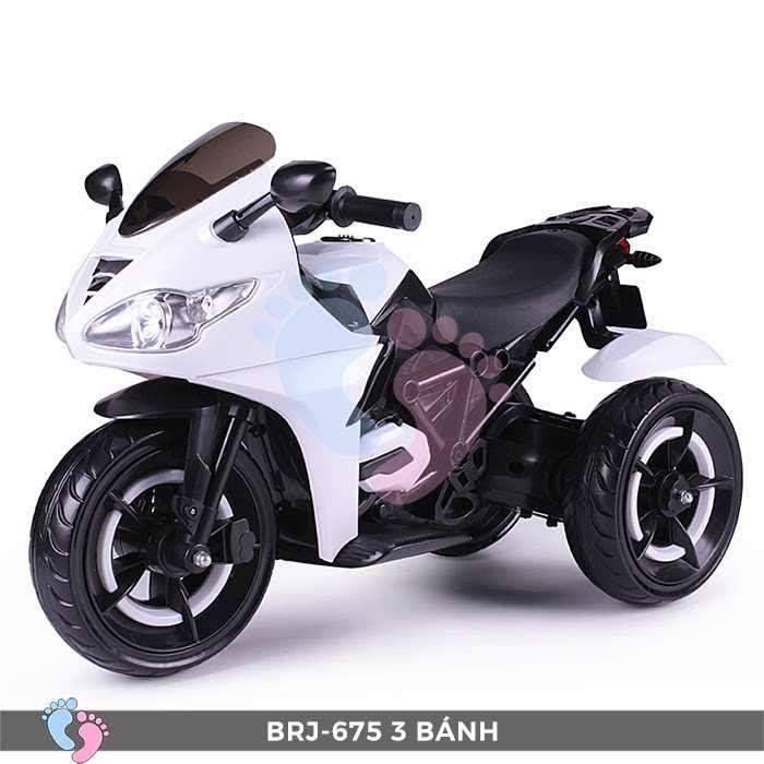 Xe moto điện trẻ em BRJ-675 3 bánh 9