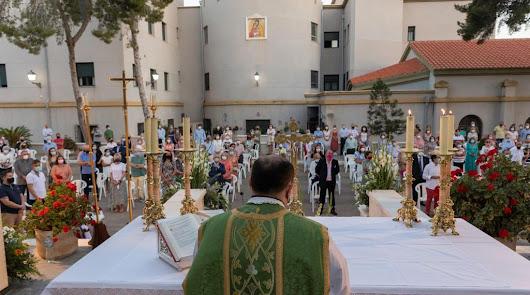 Aguadulce despide con emoción al párroco Ramón Garrido