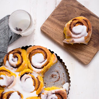 Super Soft Pumpkin Cinnamon Rolls